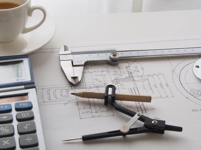 建築図面・手書き図面をスキャナー取り込み